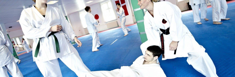 Karate-træning - Goju Ryu - Træn hver dag på Idrætshøjskolen Bosei