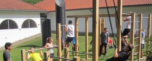 På Health & Fitness-linjen kan du udfordre dig selv i mange forskellige discipliner